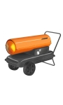 Eurom Fireball Heteluchtkanon op olie 37 kW. diesel / petroleum | Propaangeiser.nl