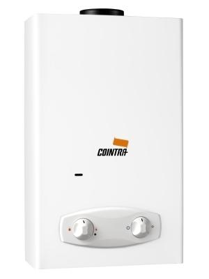 Cointra Optima COB-10x buitengeiser. Produceert tot 10 liter warm water per minuut en is vooral geschikt voor vaste installatie in de buitenruimte. 17,8 Kw. en 10,1 Liter per minuut.