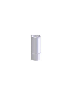 NEN 7203 Aluminium dunwandige rookgasafvoerpijp gefelst Ø 110 L 1000.