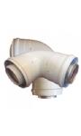 Vind hier de concentrische rookgasafvoer voor uw gesloten geiser | Rookgassen van uw binnengeiser op een veilige manier afvoeren met een rookgasafvoersysteem. | Propaangeiser.nl
